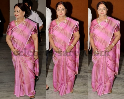 Vijaya Nirmala Died At 73 in Hyderabad.