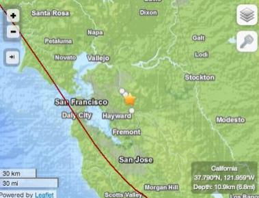 today earthquake