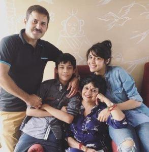 Eisha Singh Family