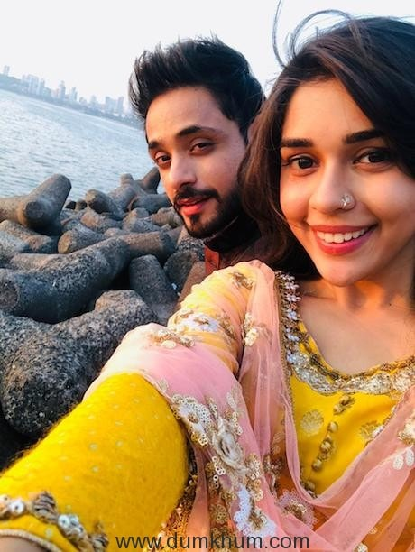 Eisha Singh and Adnan Khan