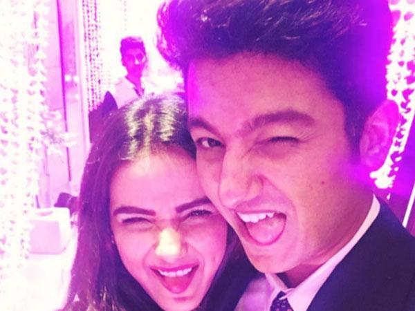 Jasmin with Her Boyfriend Suraj Wadhwa