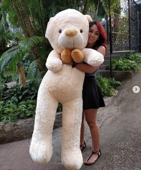 Ira With a teddy bear