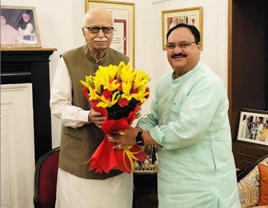 Jagat Prakash Nadda With Prime Minister Narendra Modi