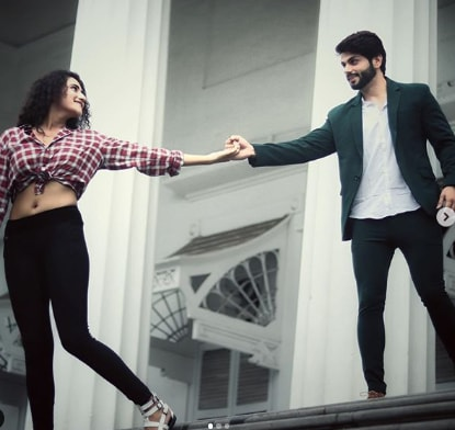 Piyush Sharma with his Girlfriend  Arshiya Arshi
