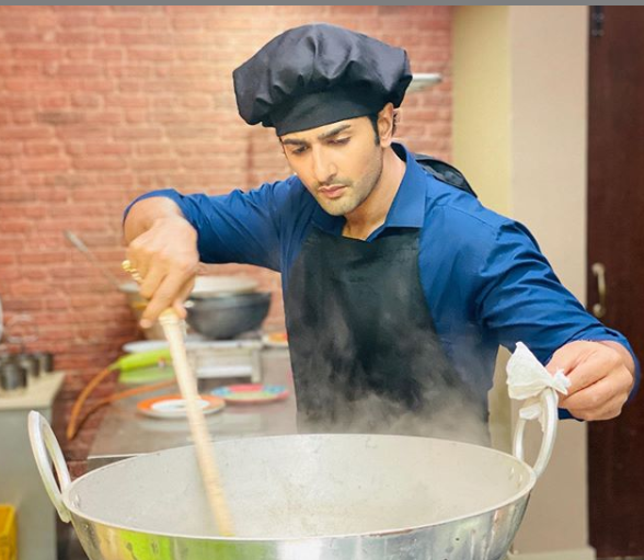 Nishant Malkani cooking