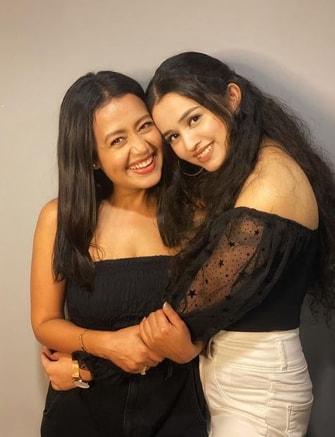 Ankita Chhetri with Neha Kakkar