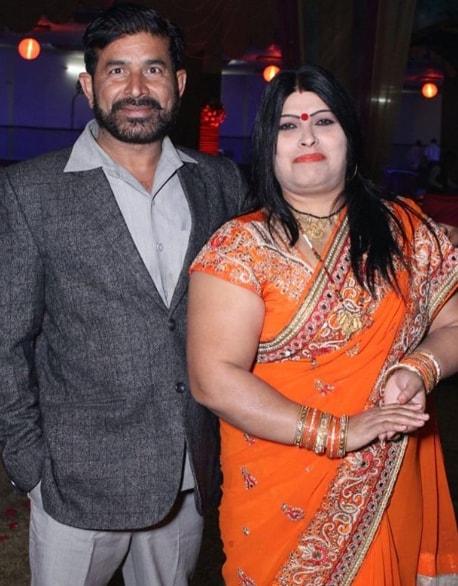 Dhanraj Tomar parents